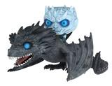 Juego de Tronos - Rey de la noche con su dragón (figura POP) Juguete