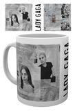 Lady Gaga - Mug avec notes manuscrites Mug