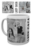 Lady Gaga - Mug con note Tazza