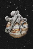 Celestial Cephalopod (bläckfisk i rymden) Bilder