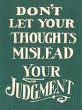 Use Judgment 高品質プリント : ファウンド・イメージ・プレス