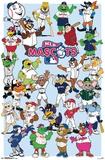 Mascotes MLB 2017 Pôsters