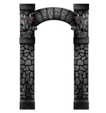 Cemetery Arch Entrance Cardboard Cutouts