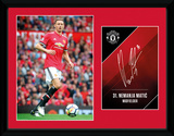 Manchester United - Matic 17-18 Sammlerdruck