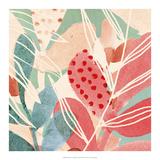 Tropical Assemblage I Affiche par Victoria Borges