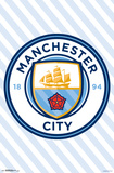 Manchester City - Logo 17 Posters