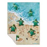 Turtle Beach Blanket Fleece Blanket