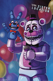 Fnaf: Sister Location - Funtime Freddy Pôsteres