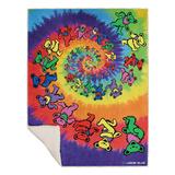 Grateful Dead - Spiral Bears Blanket Fleece Blanket