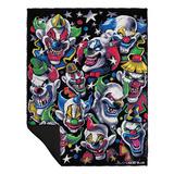 Creepy Clowns Blanket Fleece Blanket