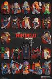 Lego Ninjago - Grid Prints