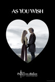 The Princess Bride - As You Wish Heart Pósters