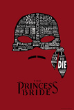 The Princess Bride Mask Affiches