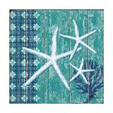 Indigo Sea III Kunstdruck von Paul Brent