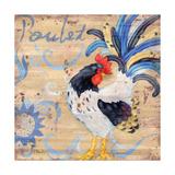 Royale Rooster IV Kunstdrucke von Paul Brent