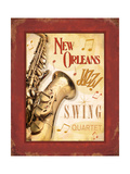 New Orleans Jazz II Prints by  Pela Design