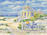 Beach Cruiser Cottage II Prints by Paul Brent