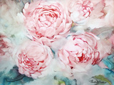 Pink Peonies II Kunst von Paula Giltner
