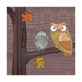 Awesome Owls IV Poster von Paul Brent