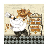 Chef Bread Posters by Pamela Gladding