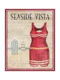 Seaside Vista Poster von Paul Brent