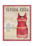 Seaside Vista Poster by Paul Brent