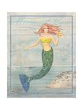 Mermaid Cove Poster von Paul Brent