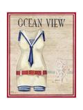 Ocean View Kunstdrucke von Paul Brent
