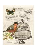 Music Bird I 高品質プリント : グウェンドリン・バビット