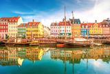 Nyhavn, Kopenhagen Fotoprint van  LaMiaFotografia