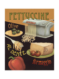 Fettuccine Prints by Daphne Brissonnet