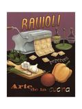 Ravioli Poster von Daphne Brissonnet
