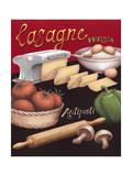 Lasagna Premium-giclée-vedos tekijänä Daphne Brissonnet