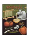 Spaghetti Affiche par Daphne Brissonnet