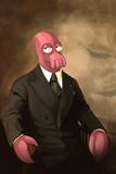 Zoidberg As President Truman Kunstdrucke