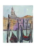 Venice Plein Air IV Premium Giclee Print by Samuel Dixon