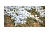 Santorini Hillside I Poster von Edie Fagan