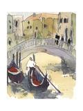 Venice Plein Air III Premium Giclee Print by Samuel Dixon