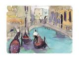 Venice Plein Air V Premium Giclee Print by Samuel Dixon