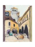 Venice Plein Air I Premium Giclee Print by Samuel Dixon