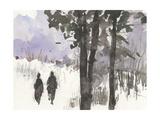 Woodland Sketch I Premium Giclee Print by Samuel Dixon