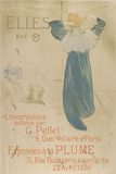 Elles (poster for 1896 exhibition at La Plume) Pósters por Henri de Toulouse-Lautrec