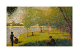 Study for a Sunday on La Grande Jatte Affiches par Georges Seurat