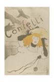 Confeti Láminas por Henri de Toulouse-Lautrec