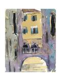 Venice Plein Air II Premium Giclee Print by Samuel Dixon