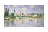 Vétheuil im Sommer Kunstdruck von Claude Monet