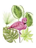 Tropical Flamingo II Posters par Melissa Wang