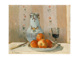 Still Life with Apples and Pitcher I Affiches par Camille Pissarro