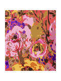 Warm Abstract Floral II Premium Giclee Print by Karen Fields