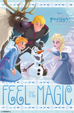 Olaf'S Frozen Adventure- Group Posters